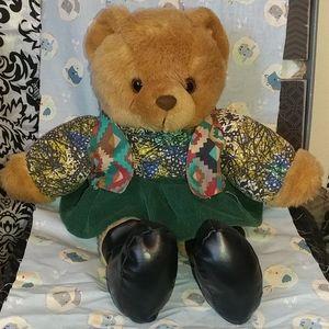 Stylish teddy bear 15 inches tall